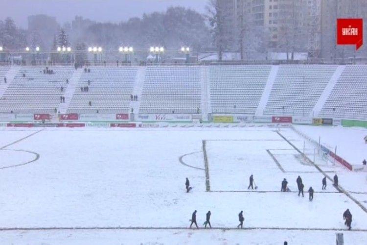 Матч «Карпати» – «Олімпік» дограють в лютому
