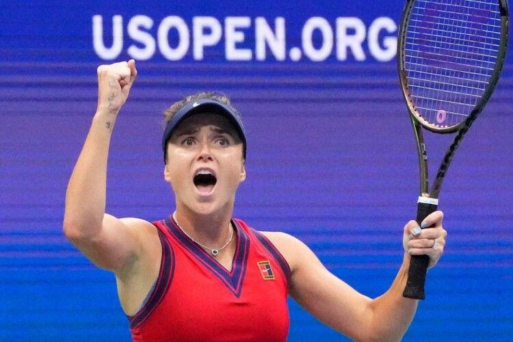 Еліна Світоліна вийшла до чвертьфіналу US Open