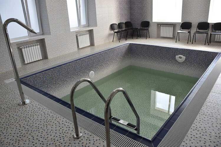 У такому басейні повертатимуть здоров'я хворим із проблемами  опорно-рухового апарату.