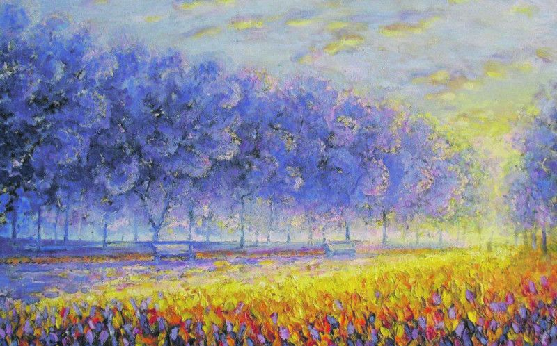 Одна з картин майстра, якими захоплюються в світі.