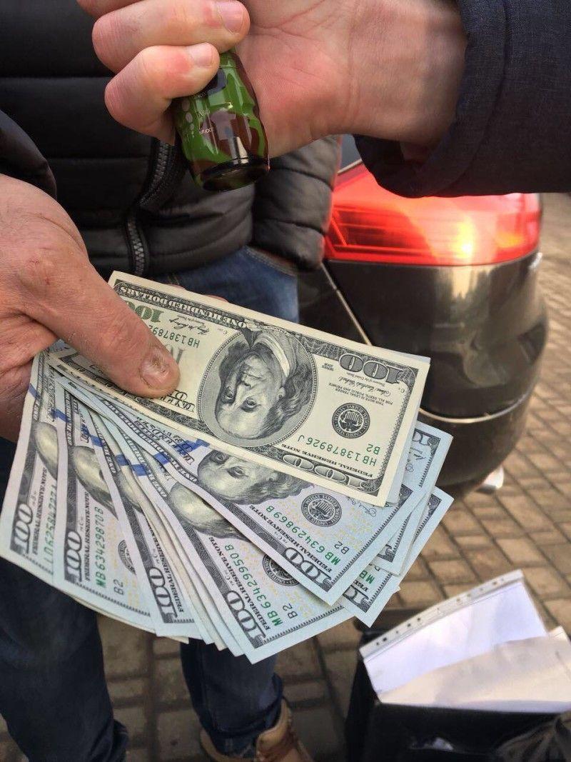 Ось так засвітилися бакси під час затримання.