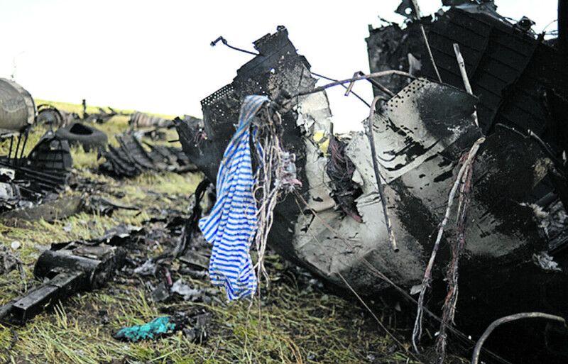 Літак упав на землю з висоти близько 700 метрів.