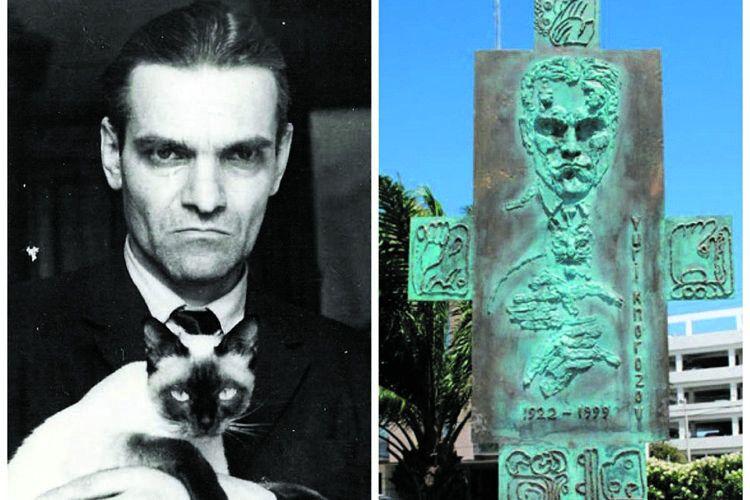 Ось такий пам'ятник харків'янину звели вКанкуні.