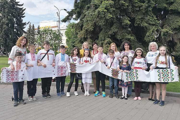 6-А клас Луцької гімназії №4імені Модеста Левицького  дофестивалю гарно підготувався!