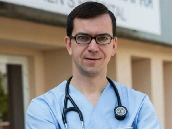 Лікар Сільковський.
