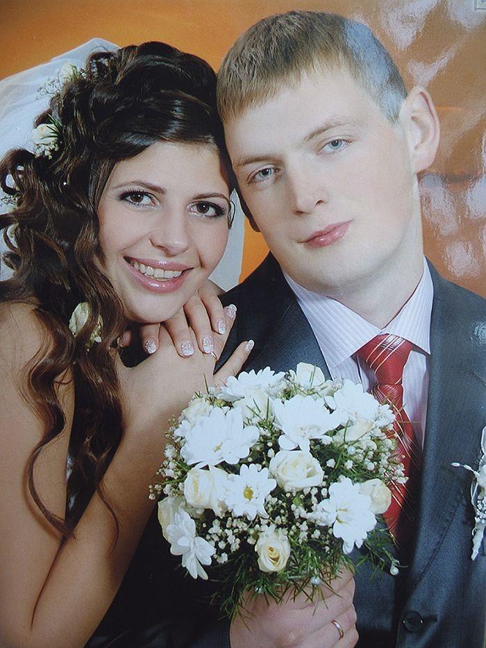 Пам'ятний весільний день.