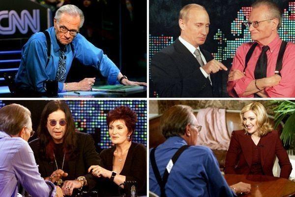 Ніхто у світі не зробив стільки телеінтерв'ю, як Ларрі Кінг.
