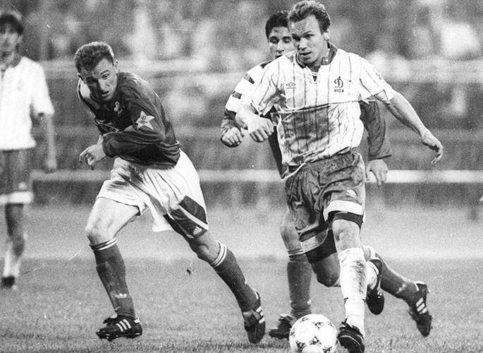 14 вересня 1994 року 95 тисяч уболівальників гнали лідера «Динамо» Віктора Леоненка вперед і він віддячив двома голами-шедеврами.