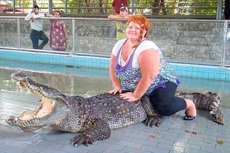 «Осідлала ісидить— крокодил злякався ікричить». Фото pixabay.com.