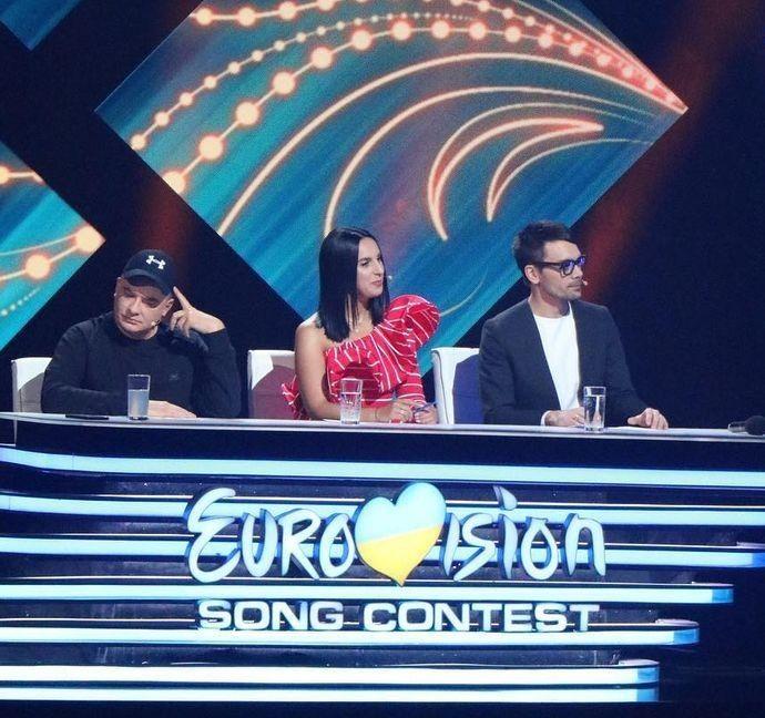 Андрій Данилко, Джамала та Євген Філатов вирішують долю переможця в Україні. А також – глядачі.