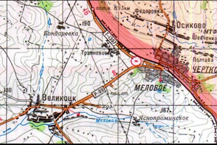 Селище Мілове ізшістьма тисячами жителів єчиненайбільшим прикордонним нонсенсом вУкраїні.