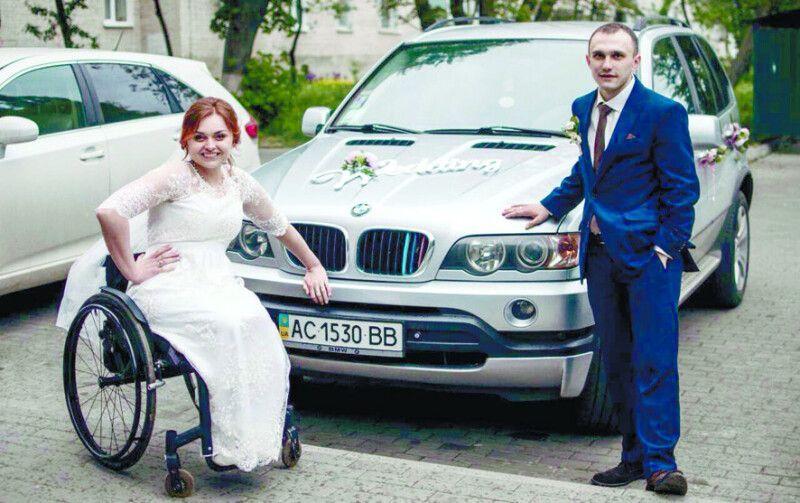 У день весілля їх не покидав добрий настрій.
