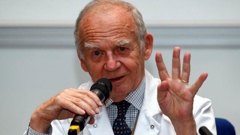 Винахідних біологічних серцевих клапанів та кардіохірург Ален Карпентьє почав виробництво штучного серця у 1993 році. Фото rfi.fr.