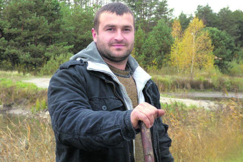 Андрій Омельчук майже все робить власними руками.
