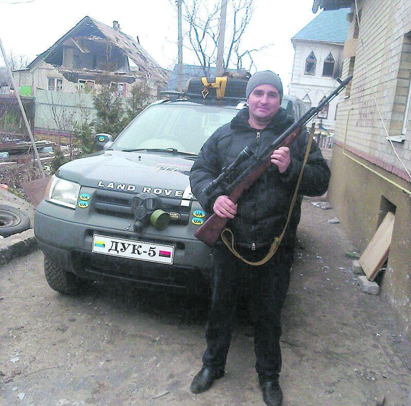 Піски на Донеччині: автомобіль від волонтерів – добробатам.