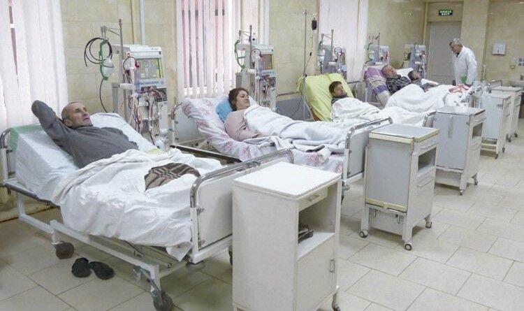У відділенні гемодіалізу десятки хворих, які потребують пересадки нирки.