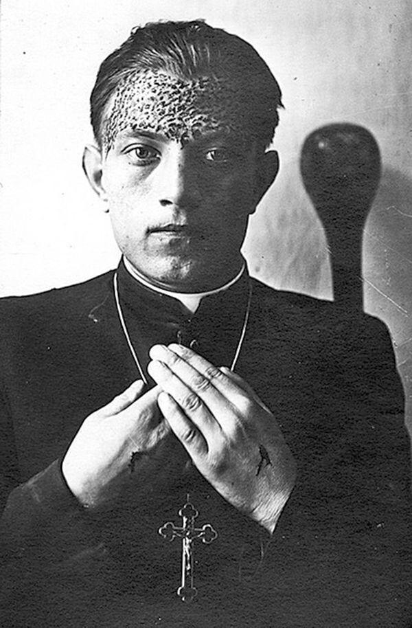 У Степана Навроцького на чолі були сліди від тернового вінця.