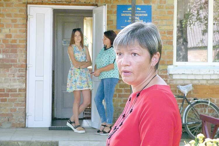 Мама трьох школярів Інна Катеринчик:  «Для батьків закриття школи— це шок!».