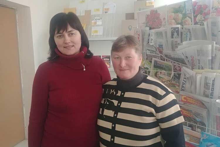 Керівник відділення Світлана Павлюк пишається  своєю підлеглою.