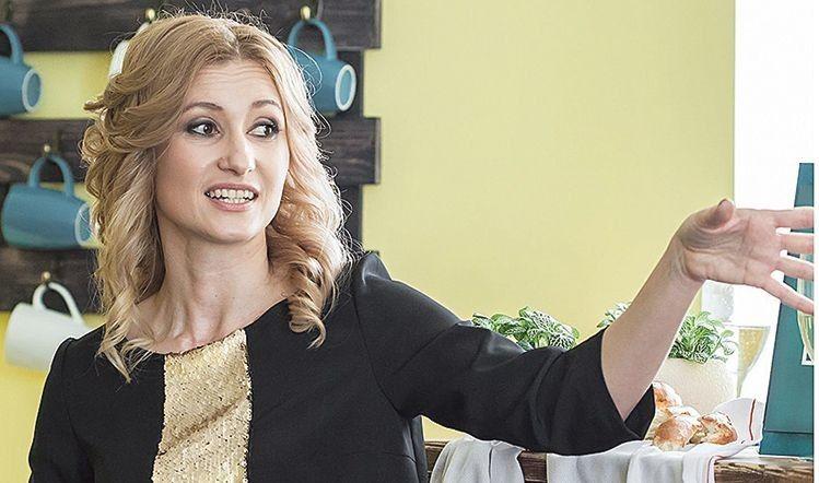 Наталя Крупська — співвласниця «Lingua House»  й за сумісництвом — педагог англійської.