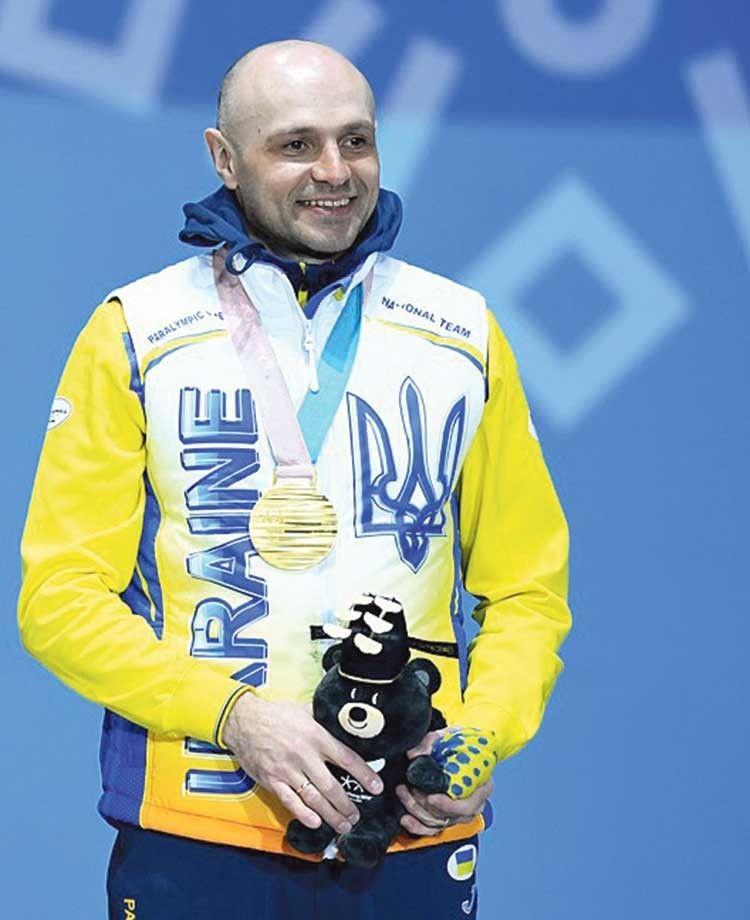 Віталій Лук'яненко — триразовий паралімпійський чемпіон!