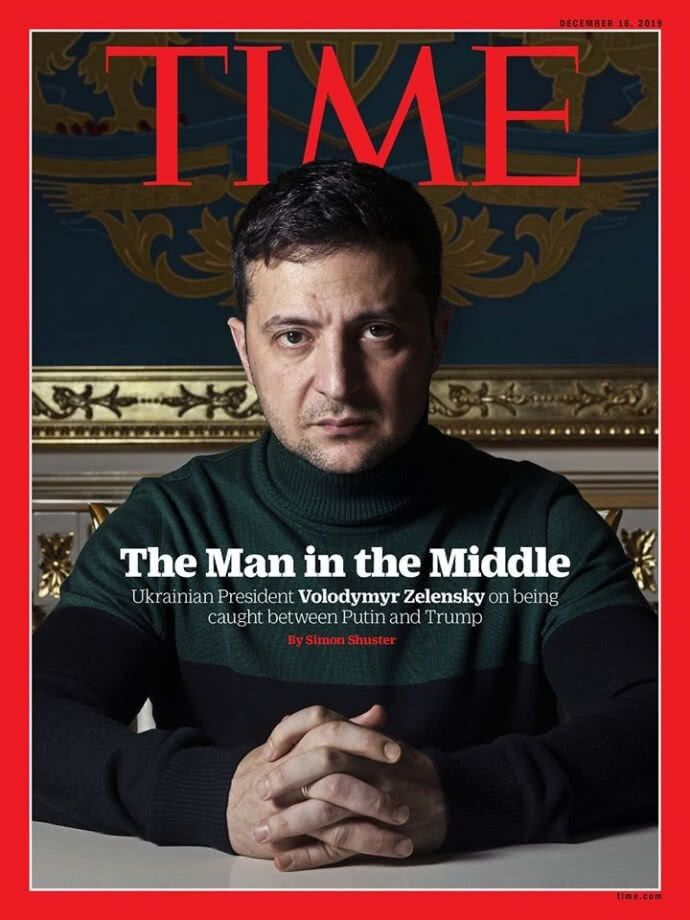 «Людина на роздоріжжі». Фото Time.com.