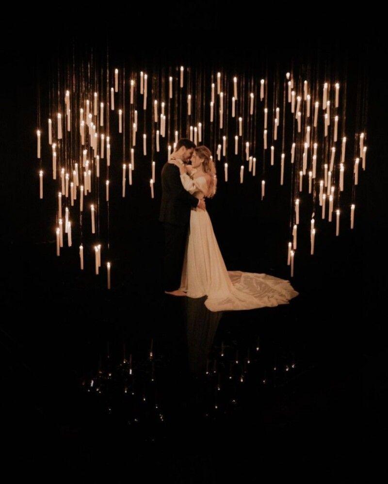 Ось так виглядала зйомка Добриніна і Квіткової (Фото: viva.ua).