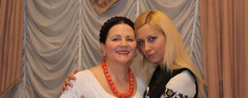 Мама і донька: Ніна і Антоніна Матвієнки.