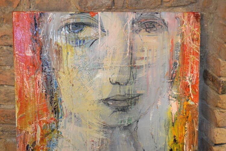 Одна з робіт майстра в галереї OBRAZ & GRABOVETSKA.