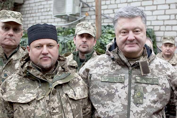 У День захисника України бійців і їхнього душпастиря вітав Президент.