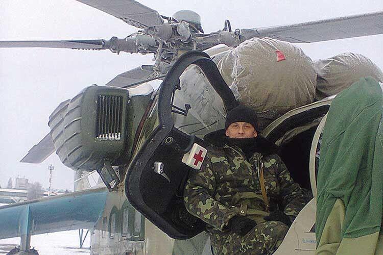 У Сергія було 9 місяців бойового хрещення у зоні АТО.