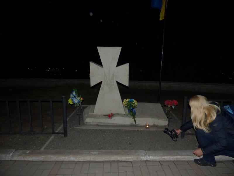 Меморіальний хрест.