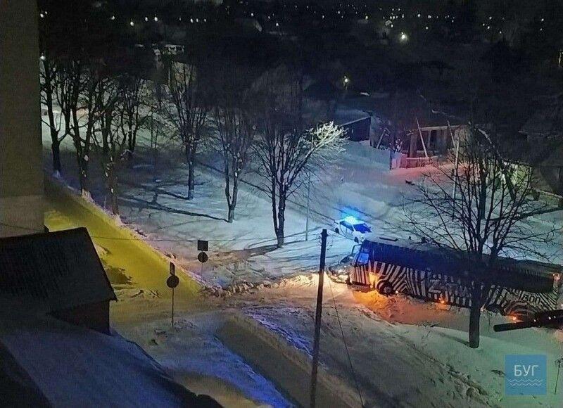 Вечірня ДТП у Володимирі.