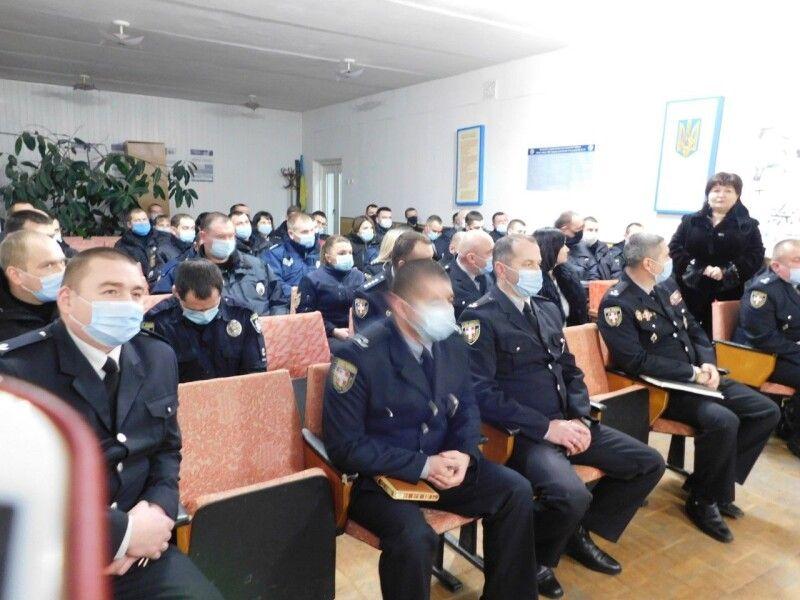 Колектив горохівських правоохоронців вітає голова Горохівського районного суду Галина Адамчук.