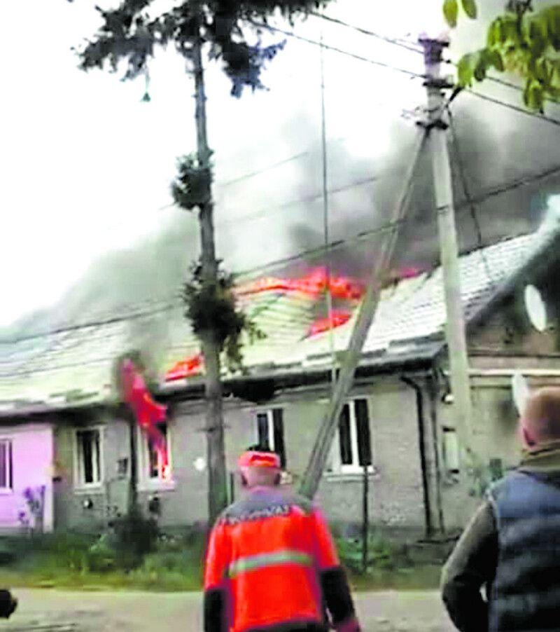 Безжальне полум'я знищило 11 квартир.