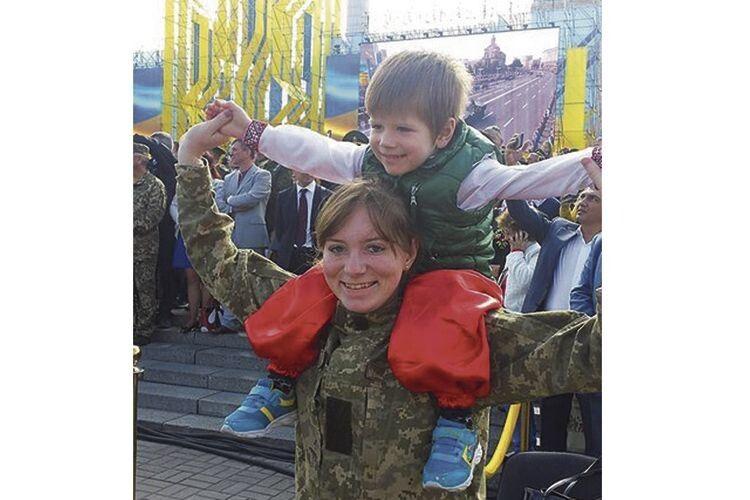 «Діма щасливий, що тепер  у нього є братик», — каже Ольга.