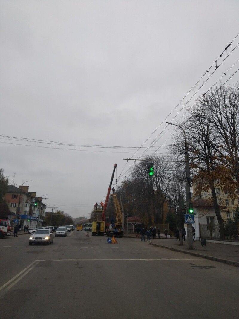 Аварія на Грушевського.