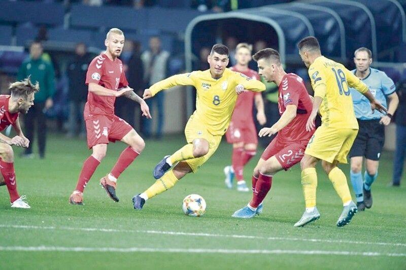 Коли м'яч у ногах у «Маліно» - в суперників збірної України починають тремтіти колінця...
