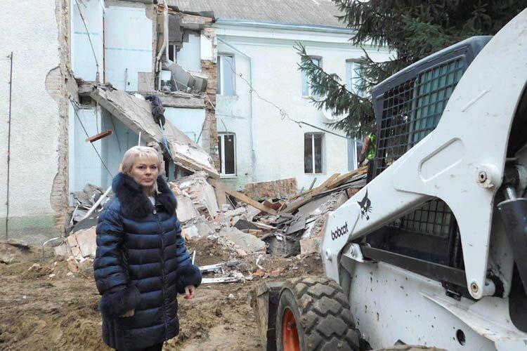 Робота постійно йде на очах у директорки закладу Юлії Ковальчук.