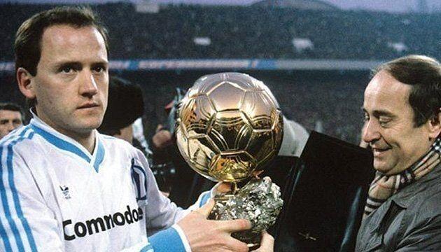 Ігор Бєланов із «Золотим м'ячем-1986».