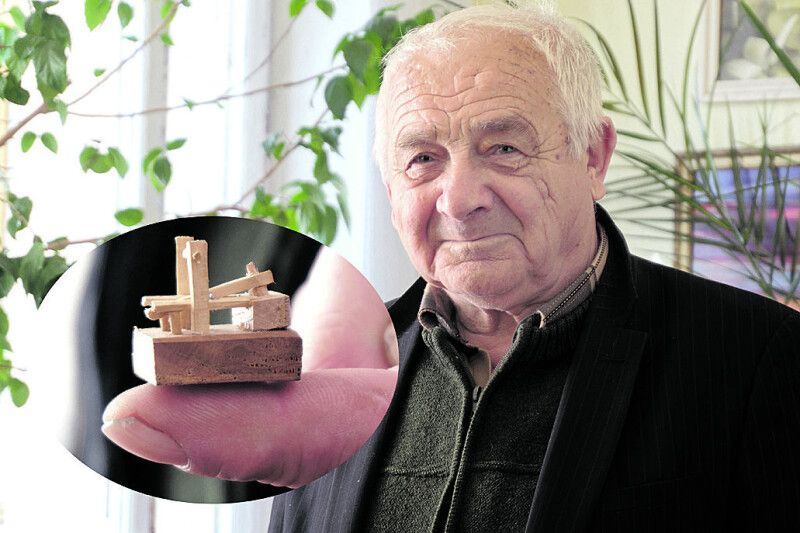 Валентин Михайлович добре знає: пристрій нехитрий, а користі багато.