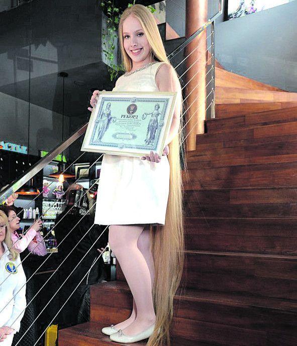 Українська рекордсменка готує документи для Книги Гіннесса.