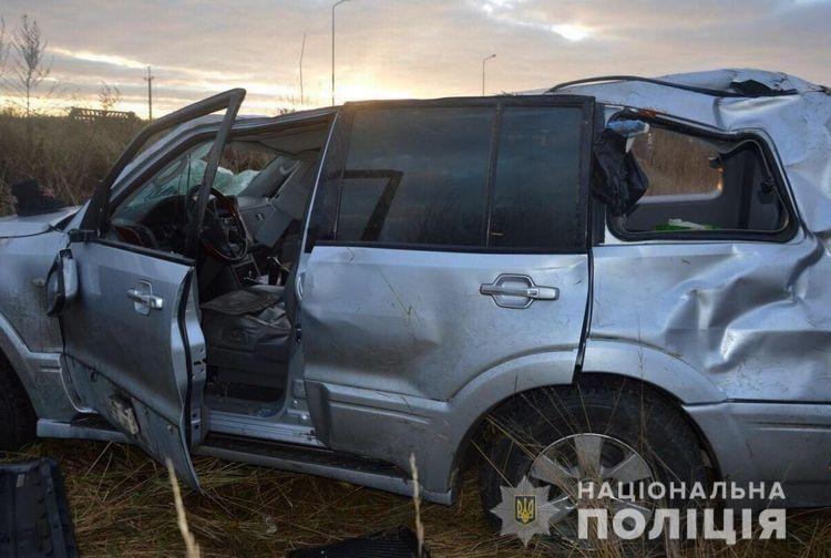 Водійка автомобіля зазнала ушкоджень.