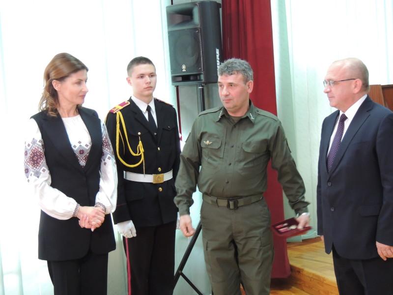 Полковник Павло Боснюк нагороджений державною відзнакою.