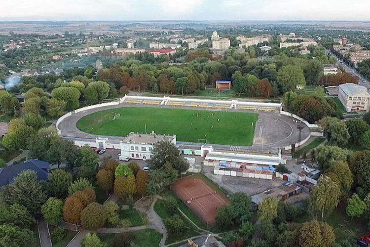 Оновлений стадіон – окраса міста.