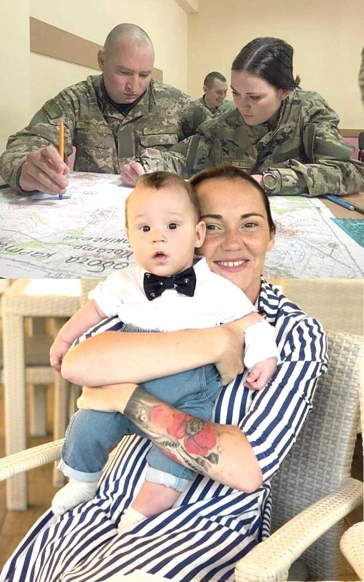 Військова керувала ротою бійців, а тепер як мама мріє, аби її син жив у суспільстві, де цінують совість і люблять свою країну.