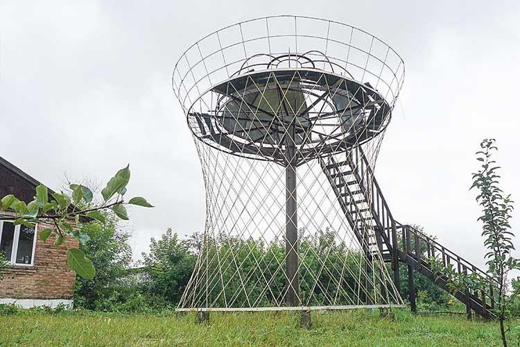 В обсерваторії залишилося зробити підлогу та купол.