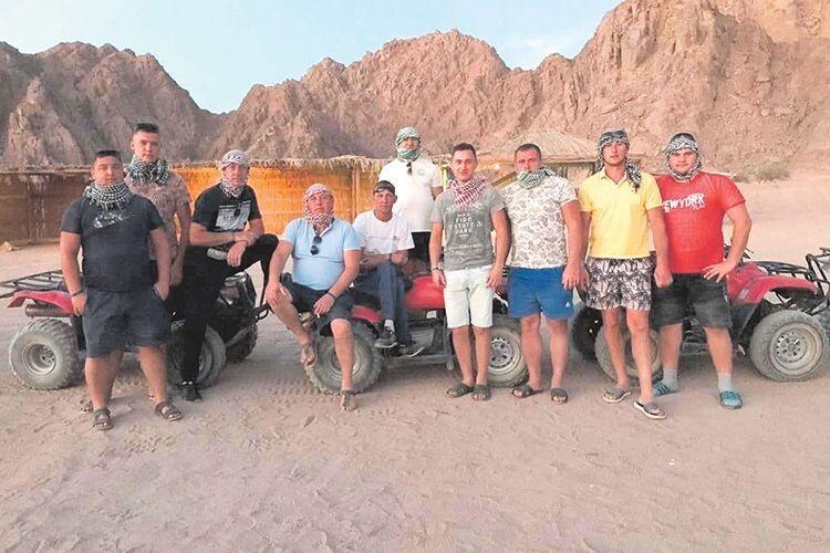 Хлопцям із «Раті» не страшні і єгипетські піски, і волинська багнюка.