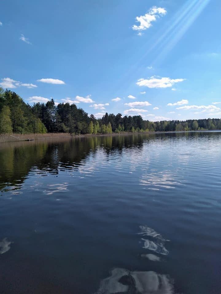 Озеро Тросне в селі Карасин Маневицького району
