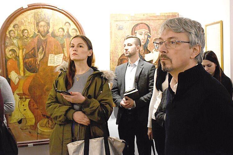 … Атакож відкрили для себе унікальний Музей волинської ікони.